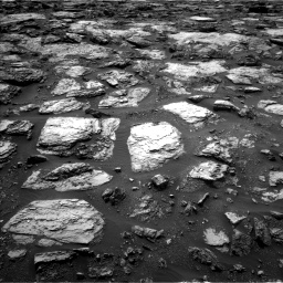 Nasa's Mars rover Curiosity acquired this image using its Left Navigation Camera on Sol 1485, at drive 1794, site number 58