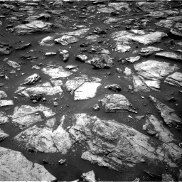 Nasa's Mars rover Curiosity acquired this image using its Right Navigation Camera on Sol 1485, at drive 1578, site number 58