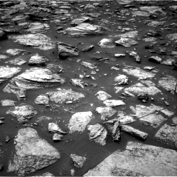 Nasa's Mars rover Curiosity acquired this image using its Right Navigation Camera on Sol 1485, at drive 1590, site number 58