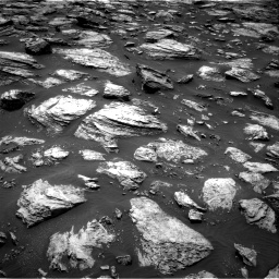 Nasa's Mars rover Curiosity acquired this image using its Right Navigation Camera on Sol 1485, at drive 1596, site number 58