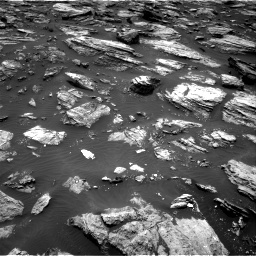 Nasa's Mars rover Curiosity acquired this image using its Right Navigation Camera on Sol 1485, at drive 1608, site number 58