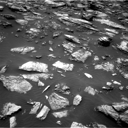 Nasa's Mars rover Curiosity acquired this image using its Right Navigation Camera on Sol 1485, at drive 1614, site number 58