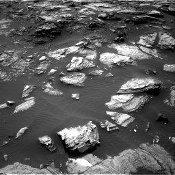 Nasa's Mars rover Curiosity acquired this image using its Right Navigation Camera on Sol 1485, at drive 1644, site number 58