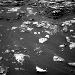 Nasa's Mars rover Curiosity acquired this image using its Right Navigation Camera on Sol 1485, at drive 1662, site number 58