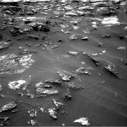 Nasa's Mars rover Curiosity acquired this image using its Right Navigation Camera on Sol 1485, at drive 1686, site number 58