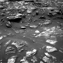Nasa's Mars rover Curiosity acquired this image using its Right Navigation Camera on Sol 1485, at drive 1704, site number 58