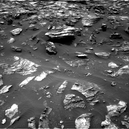 Nasa's Mars rover Curiosity acquired this image using its Right Navigation Camera on Sol 1485, at drive 1710, site number 58