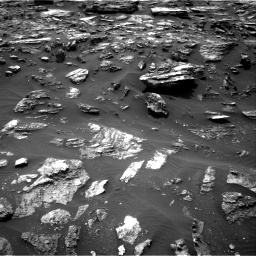 Nasa's Mars rover Curiosity acquired this image using its Right Navigation Camera on Sol 1485, at drive 1716, site number 58