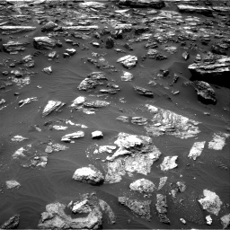 Nasa's Mars rover Curiosity acquired this image using its Right Navigation Camera on Sol 1485, at drive 1722, site number 58