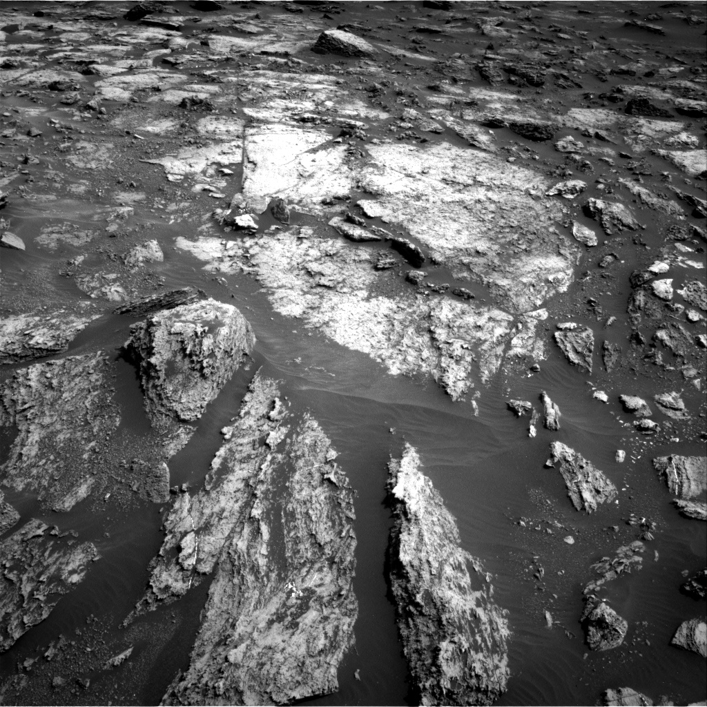 Nasa's Mars rover Curiosity acquired this image using its Right Navigation Camera on Sol 1485, at drive 1806, site number 58
