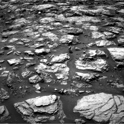 Nasa's Mars rover Curiosity acquired this image using its Right Navigation Camera on Sol 1485, at drive 1818, site number 58