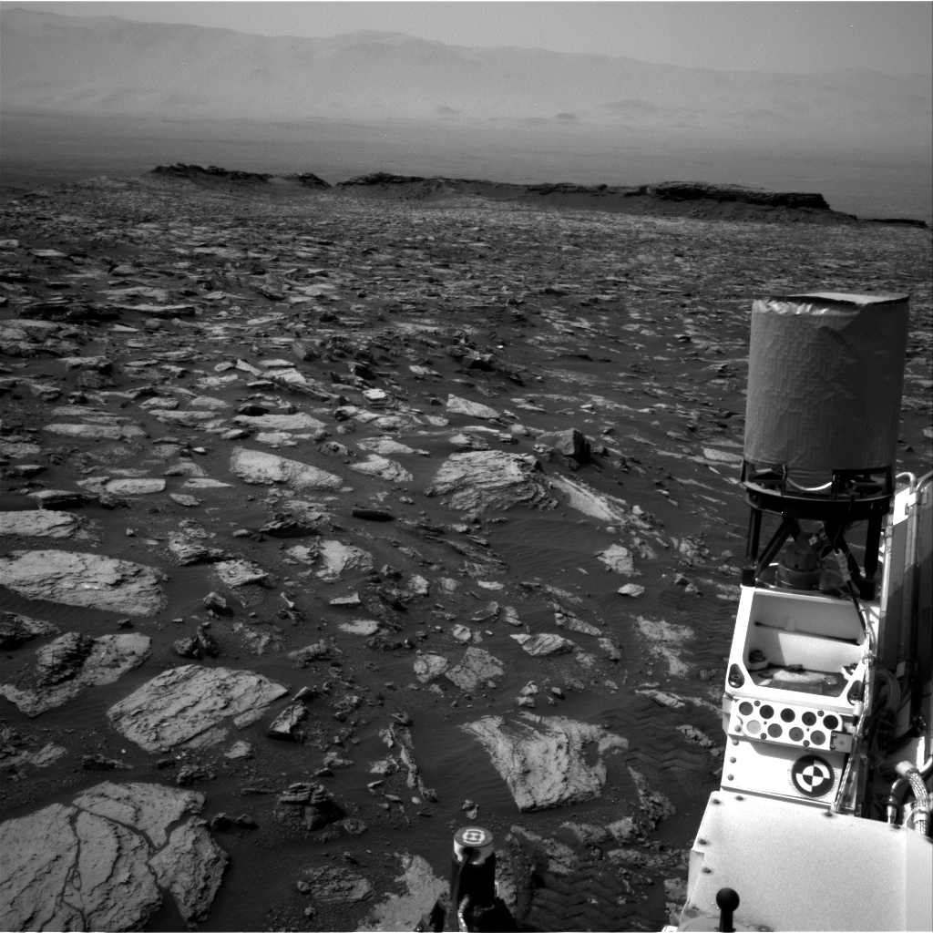 Nasa's Mars rover Curiosity acquired this image using its Right Navigation Camera on Sol 1485, at drive 1836, site number 58
