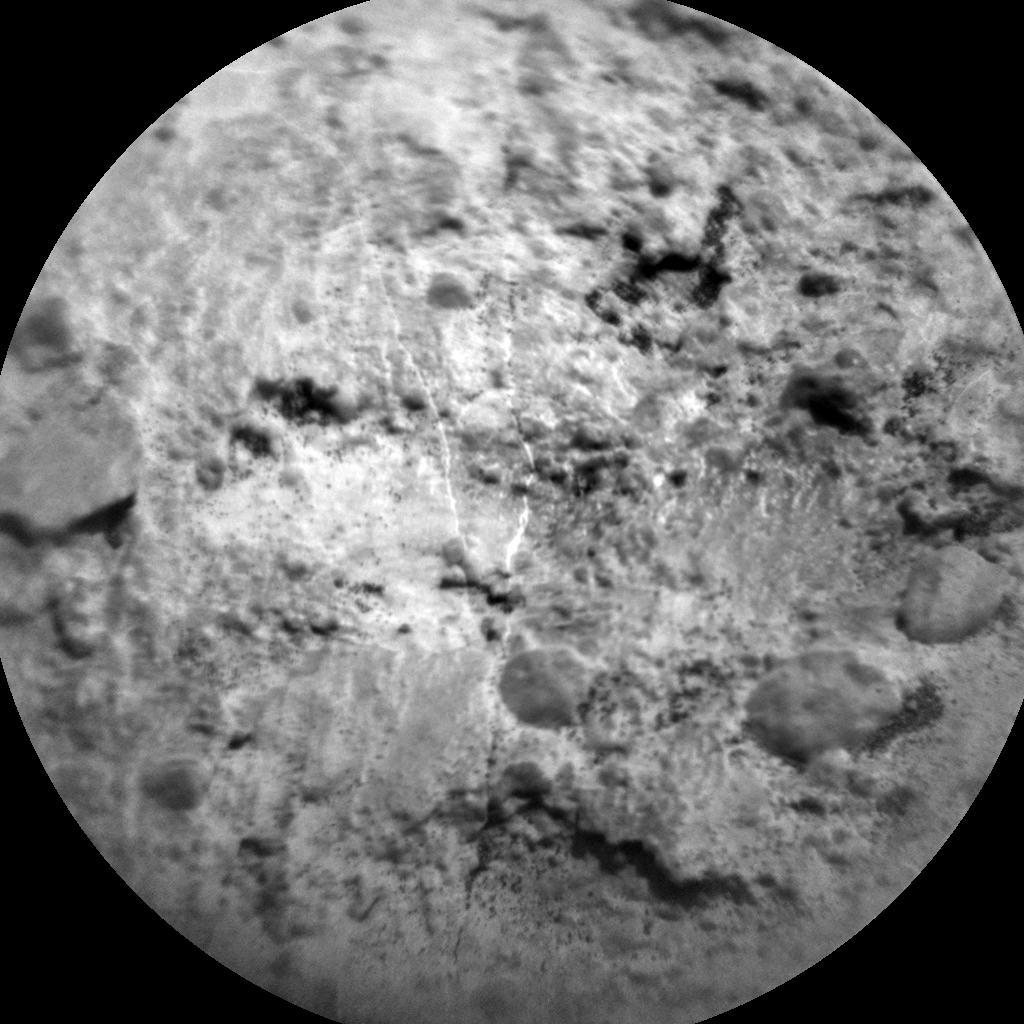 Nasa's Mars rover Curiosity acquired this image using its Chemistry & Camera (ChemCam) on Sol 1485, at drive 1572, site number 58