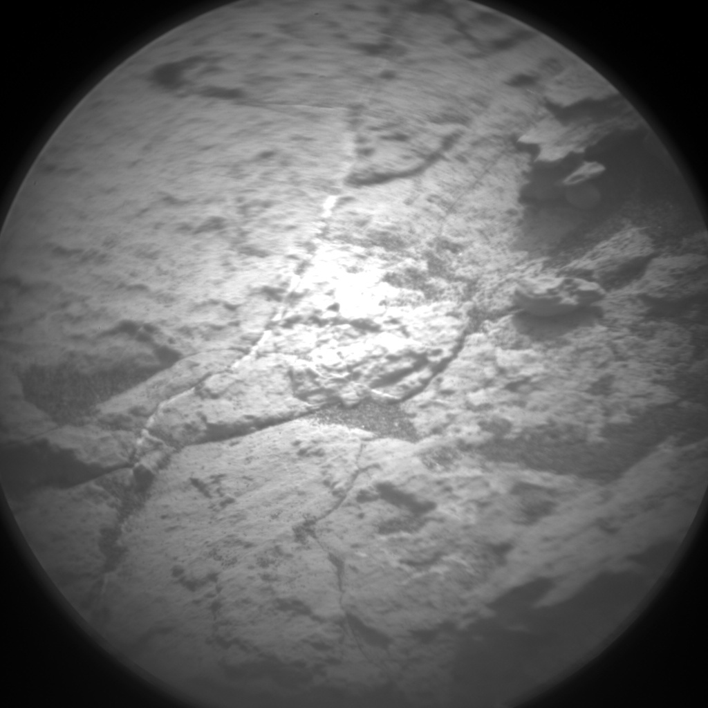 Nasa's Mars rover Curiosity acquired this image using its Chemistry & Camera (ChemCam) on Sol 1486, at drive 1836, site number 58