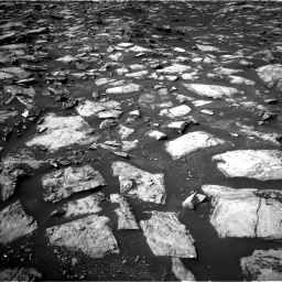 Nasa's Mars rover Curiosity acquired this image using its Left Navigation Camera on Sol 1487, at drive 1890, site number 58