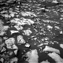 Nasa's Mars rover Curiosity acquired this image using its Left Navigation Camera on Sol 1487, at drive 1944, site number 58