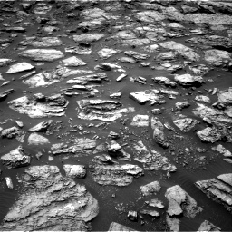 Nasa's Mars rover Curiosity acquired this image using its Right Navigation Camera on Sol 1487, at drive 1836, site number 58