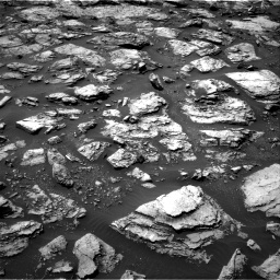 Nasa's Mars rover Curiosity acquired this image using its Right Navigation Camera on Sol 1487, at drive 1842, site number 58