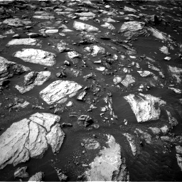 Nasa's Mars rover Curiosity acquired this image using its Right Navigation Camera on Sol 1487, at drive 1854, site number 58
