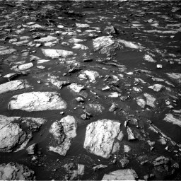 Nasa's Mars rover Curiosity acquired this image using its Right Navigation Camera on Sol 1487, at drive 1878, site number 58