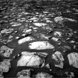 Nasa's Mars rover Curiosity acquired this image using its Right Navigation Camera on Sol 1487, at drive 1884, site number 58