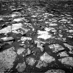 Nasa's Mars rover Curiosity acquired this image using its Right Navigation Camera on Sol 1487, at drive 1902, site number 58