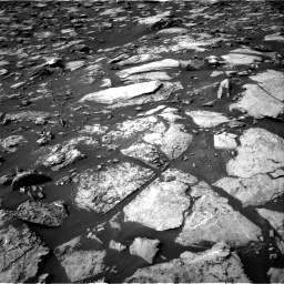 Nasa's Mars rover Curiosity acquired this image using its Right Navigation Camera on Sol 1487, at drive 1926, site number 58