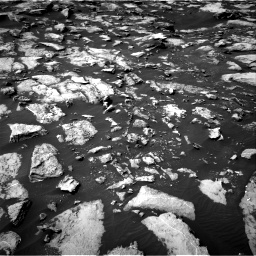Nasa's Mars rover Curiosity acquired this image using its Right Navigation Camera on Sol 1487, at drive 1944, site number 58