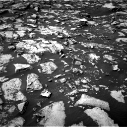 Nasa's Mars rover Curiosity acquired this image using its Right Navigation Camera on Sol 1487, at drive 1950, site number 58