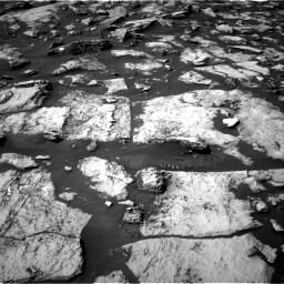 Nasa's Mars rover Curiosity acquired this image using its Right Navigation Camera on Sol 1487, at drive 1974, site number 58