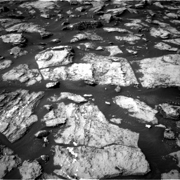 Nasa's Mars rover Curiosity acquired this image using its Right Navigation Camera on Sol 1487, at drive 1980, site number 58