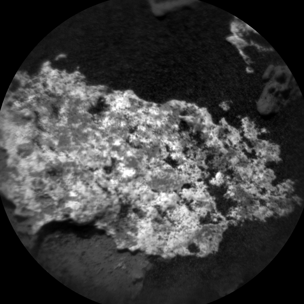 Nasa's Mars rover Curiosity acquired this image using its Chemistry & Camera (ChemCam) on Sol 1487, at drive 1836, site number 58