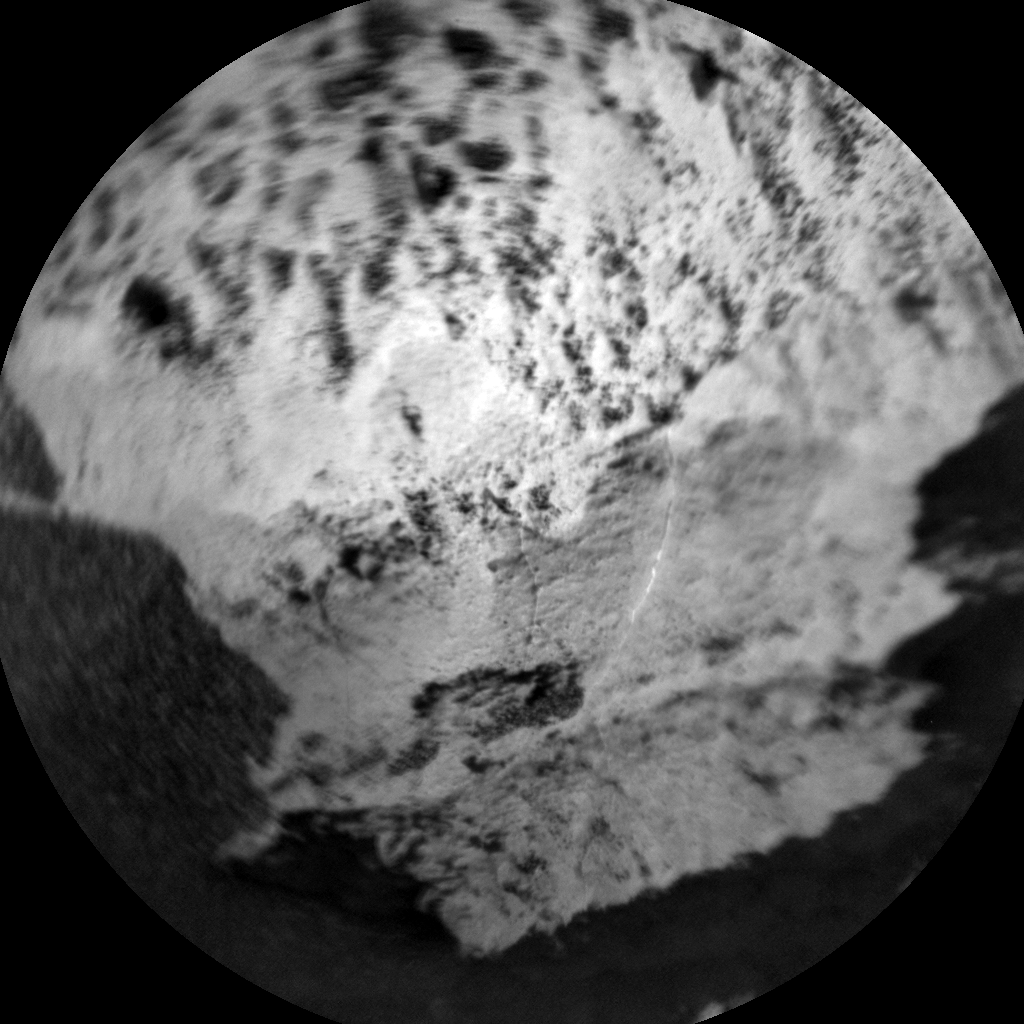 Nasa's Mars rover Curiosity acquired this image using its Chemistry & Camera (ChemCam) on Sol 1487, at drive 1986, site number 58