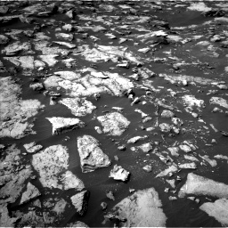 Nasa's Mars rover Curiosity acquired this image using its Left Navigation Camera on Sol 1489, at drive 2016, site number 58