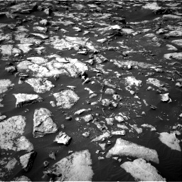 Nasa's Mars rover Curiosity acquired this image using its Right Navigation Camera on Sol 1489, at drive 2016, site number 58