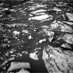 Nasa's Mars rover Curiosity acquired this image using its Right Navigation Camera on Sol 1489, at drive 2028, site number 58