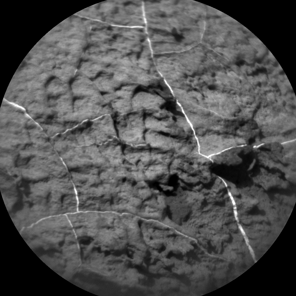 Nasa's Mars rover Curiosity acquired this image using its Chemistry & Camera (ChemCam) on Sol 1489, at drive 1986, site number 58