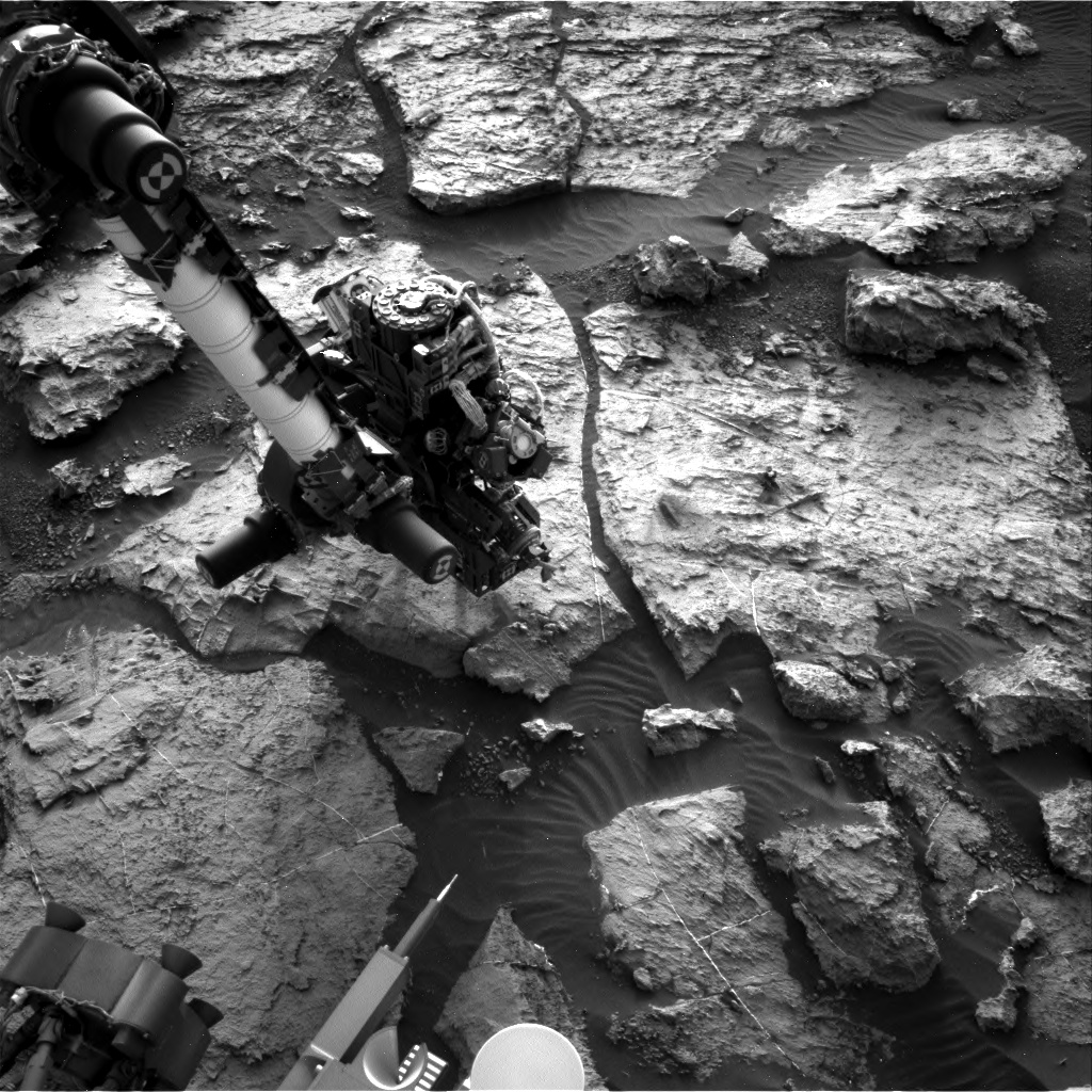 Nasa's Mars rover Curiosity acquired this image using its Right Navigation Camera on Sol 1491, at drive 2046, site number 58