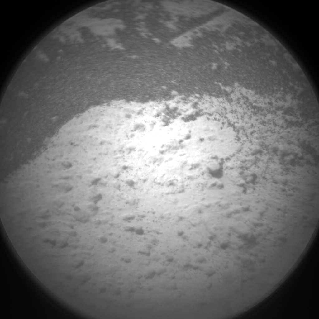 Nasa's Mars rover Curiosity acquired this image using its Chemistry & Camera (ChemCam) on Sol 1492, at drive 2046, site number 58