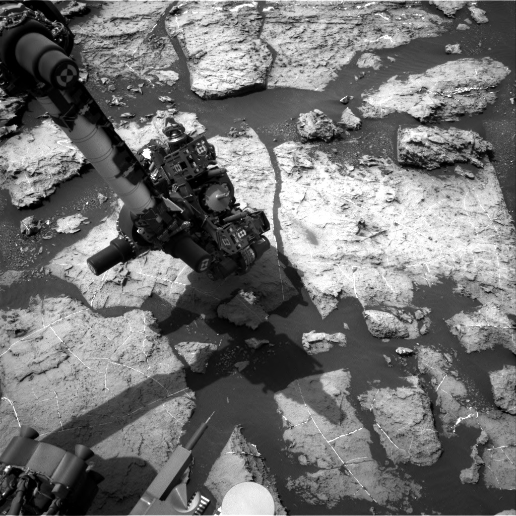 Nasa's Mars rover Curiosity acquired this image using its Right Navigation Camera on Sol 1492, at drive 2046, site number 58