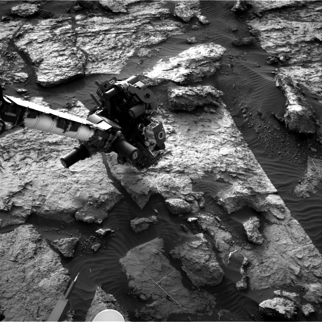 Nasa's Mars rover Curiosity acquired this image using its Right Navigation Camera on Sol 1493, at drive 2046, site number 58
