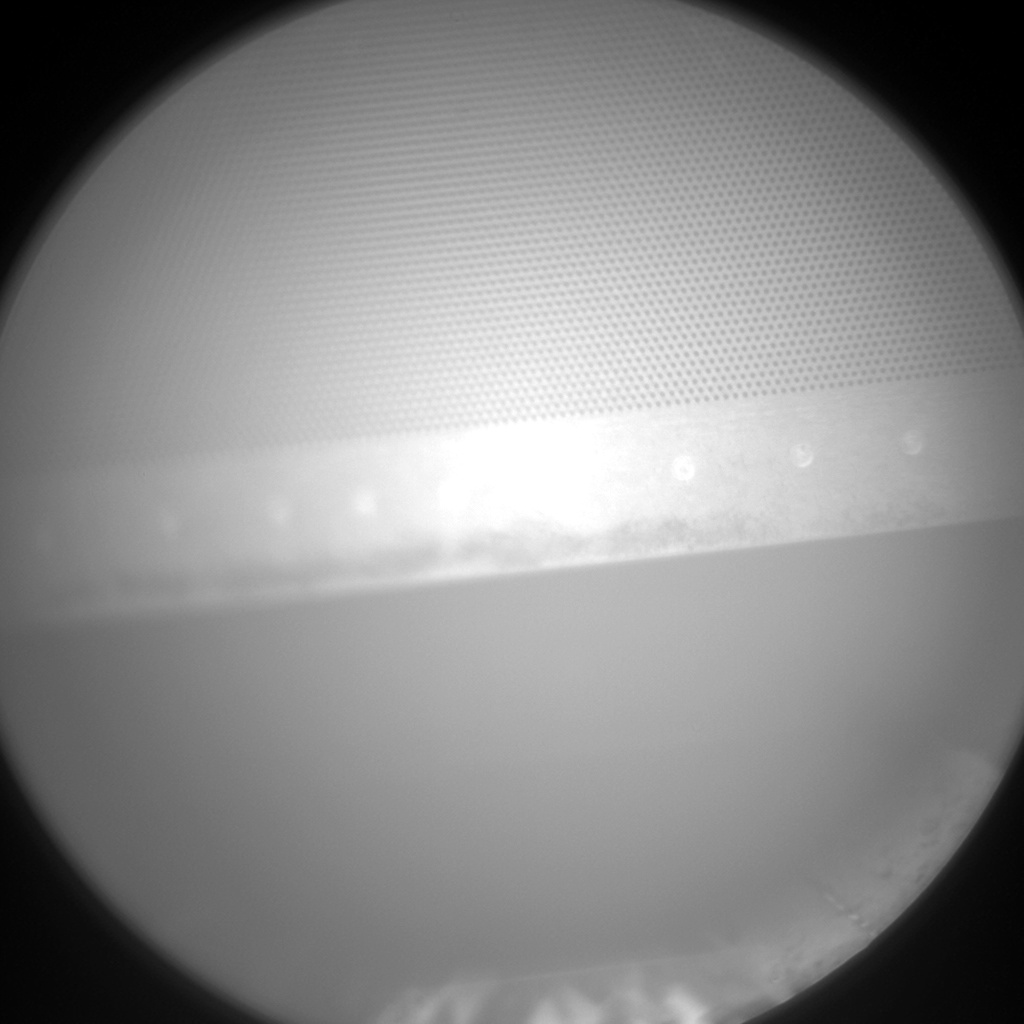 Nasa's Mars rover Curiosity acquired this image using its Chemistry & Camera (ChemCam) on Sol 1494, at drive 2046, site number 58