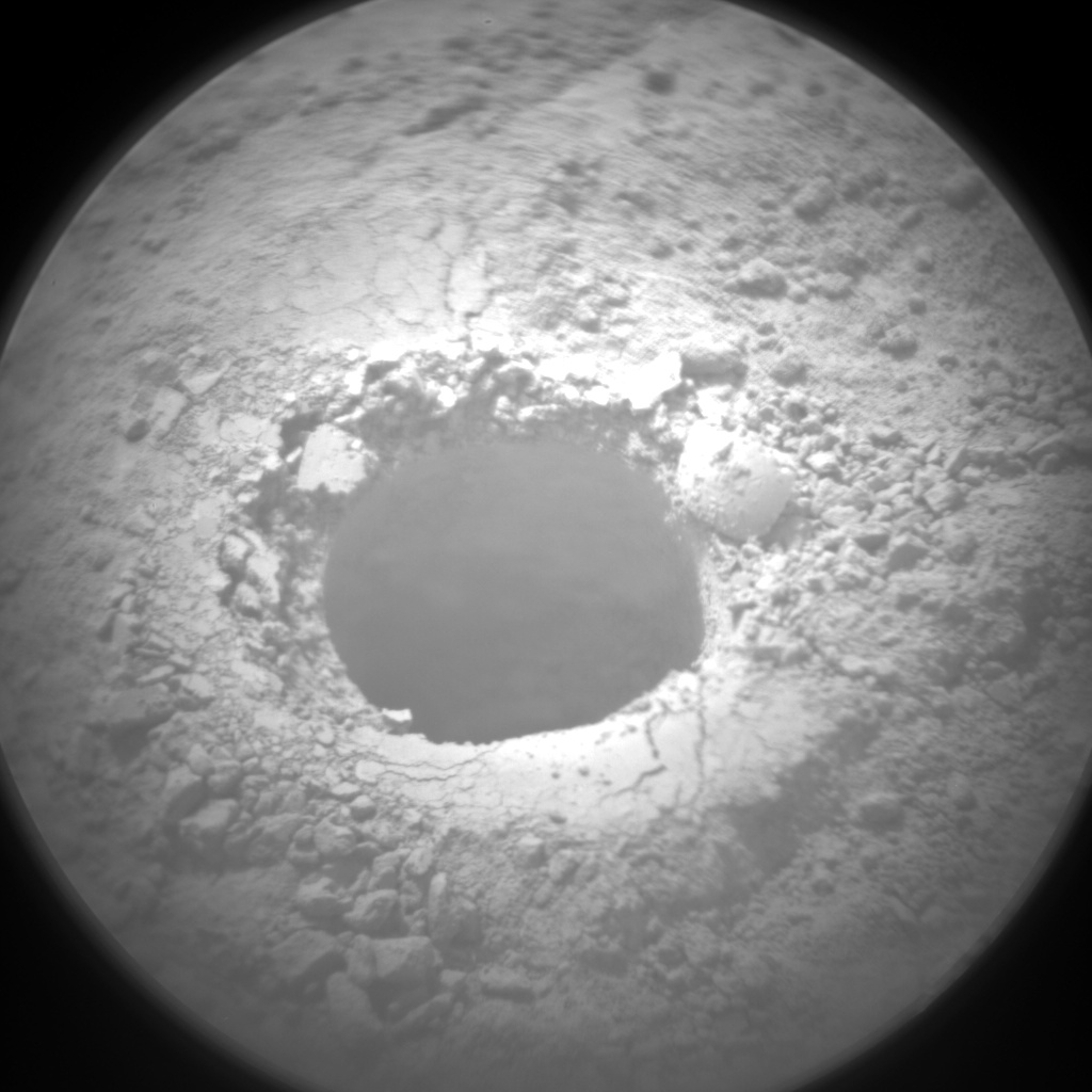 Nasa's Mars rover Curiosity acquired this image using its Chemistry & Camera (ChemCam) on Sol 1495, at drive 2046, site number 58