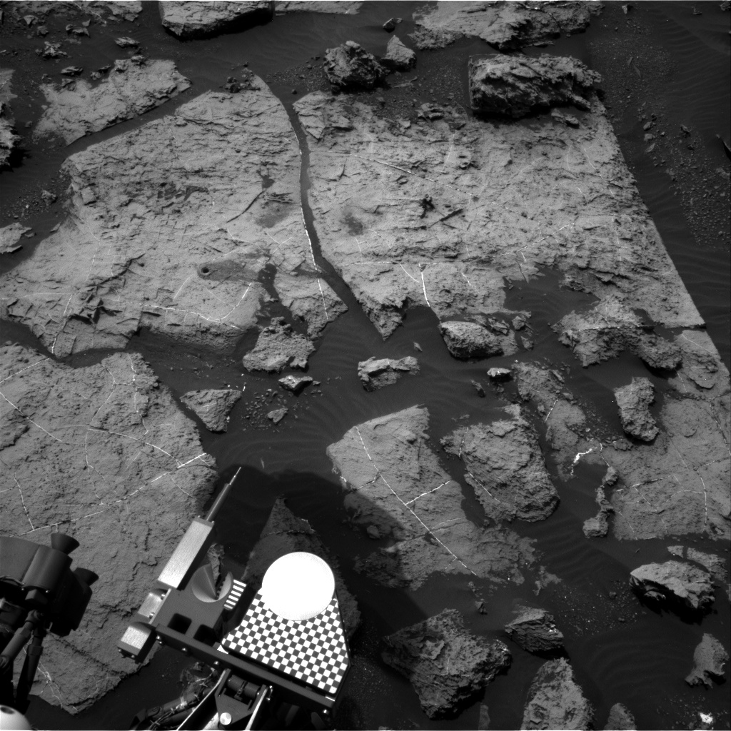 Nasa's Mars rover Curiosity acquired this image using its Right Navigation Camera on Sol 1496, at drive 2046, site number 58