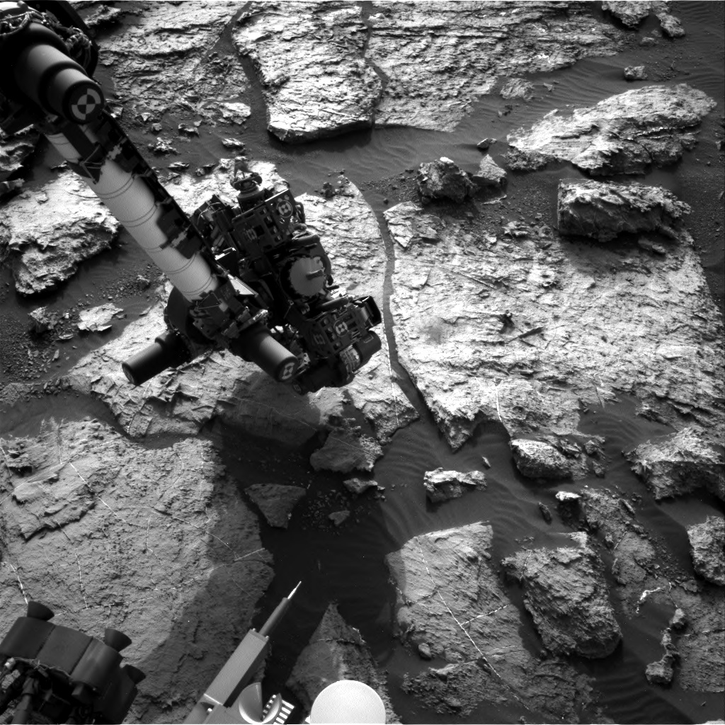 Nasa's Mars rover Curiosity acquired this image using its Right Navigation Camera on Sol 1497, at drive 2046, site number 58