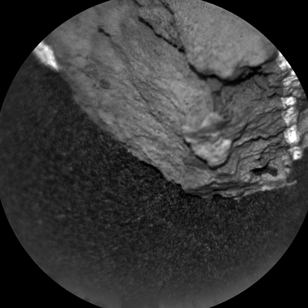 Nasa's Mars rover Curiosity acquired this image using its Chemistry & Camera (ChemCam) on Sol 1497, at drive 2046, site number 58