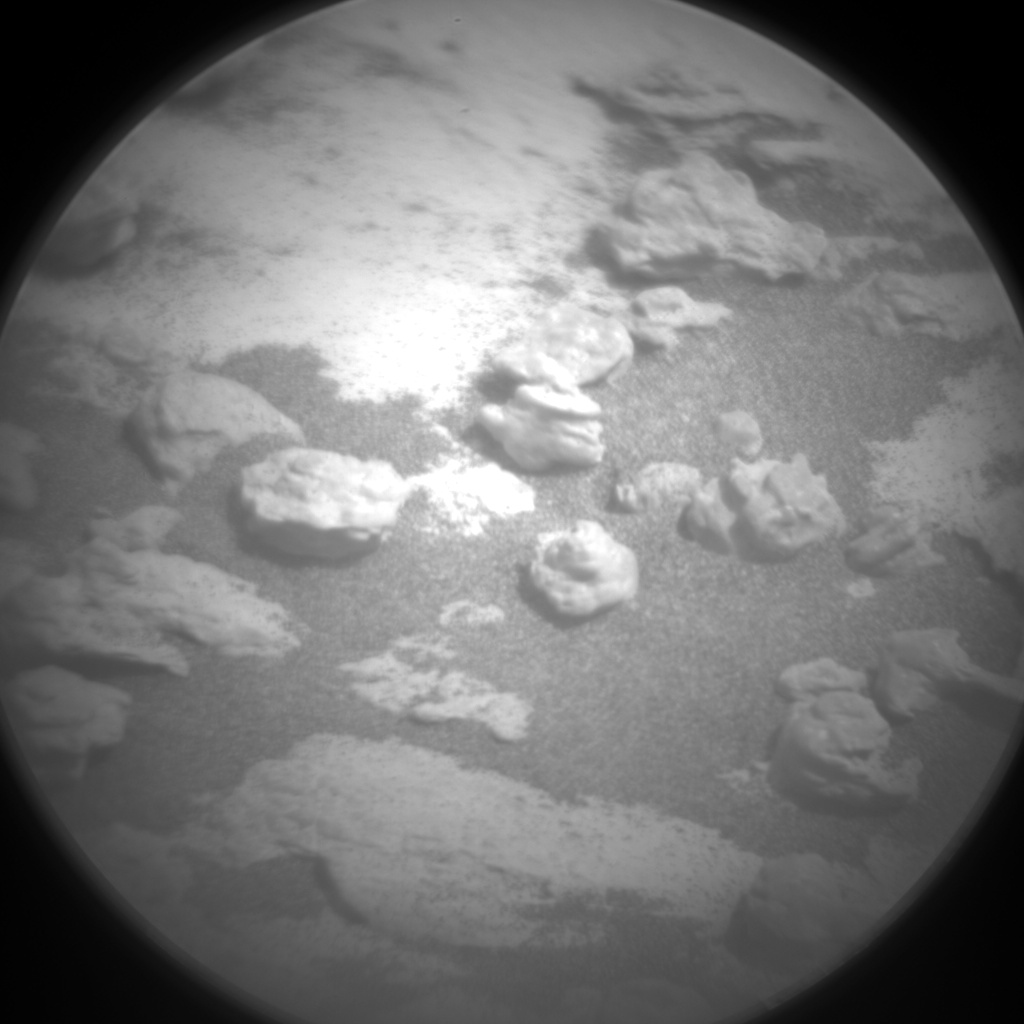 Nasa's Mars rover Curiosity acquired this image using its Chemistry & Camera (ChemCam) on Sol 1499, at drive 2046, site number 58