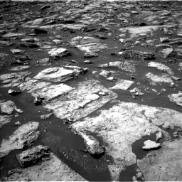 Nasa's Mars rover Curiosity acquired this image using its Left Navigation Camera on Sol 1499, at drive 2046, site number 58