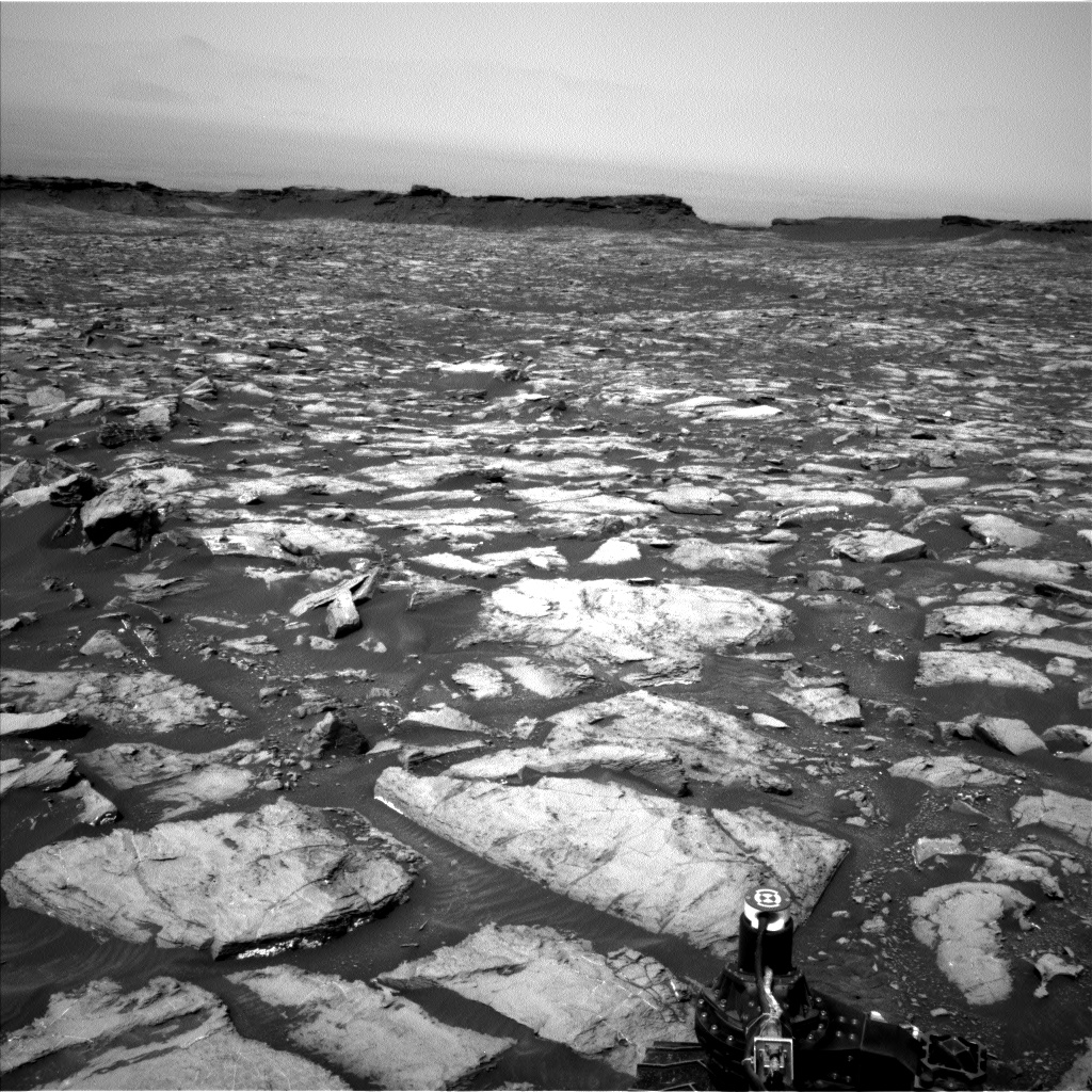Nasa's Mars rover Curiosity acquired this image using its Left Navigation Camera on Sol 1499, at drive 2136, site number 58