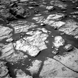 Nasa's Mars rover Curiosity acquired this image using its Right Navigation Camera on Sol 1499, at drive 2058, site number 58